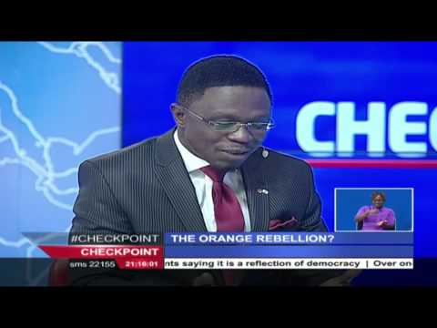 Checkpoint interview with Hon. Ababu Namwamba: The wrangles in ODM