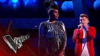 Stacey Skeete vs. Jamie Miller - 'Perfect Strangers'| The Voice UK 2017