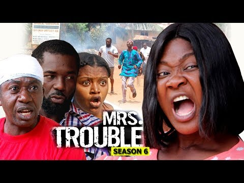 Mrs Trouble Season 6 Finale - Mercy Johnson 2018 Latest Nigerian Nollywood Movie full HD
