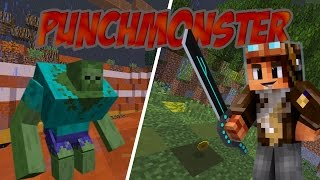 Video [Minecraft] PunchMonster - CARNAGE DE MONSTRES !! MP3, 3GP, MP4, WEBM, AVI, FLV Oktober 2017