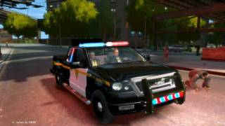 Grand Theft Auto IV - Ford F150 + (ELS) Emergency Lighting System V6 - HD - PC