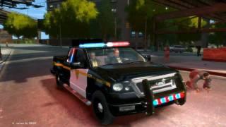 Grand Theft Auto IV - Ford F150 + (ELS) Emergency Lighting System V6 - HD - PC