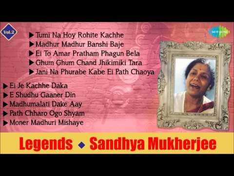 Best Of Sandhya Mukherjee | Bengali Songs Audio Jukebox | Vol.2 | Sandhya Mukherjee Songs - Video71.Com