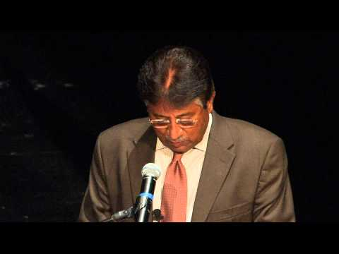 Pakistan Regional Security and Terrorism, talk by Pervez Musharraf