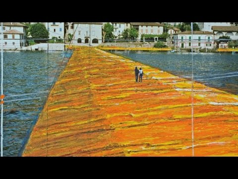 "lago d'iseo 2016: ""christo the floating piers"""