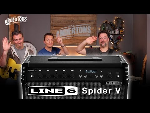 Line 6 Spider V 120w Combo Demo With Chappers & The Capt