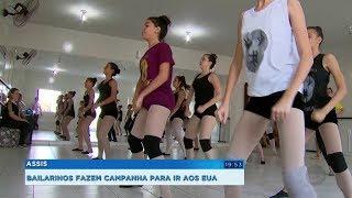 Bailarinos de Assis são escolhidos em seletiva para se apresentar nos EUA e buscam patrocínio