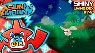 EPIC SHINY CUTIEFLY REACTION!! Quest For Shiny Living Dex #742 | Pokemon Sun and Moon Shiny #16 by aDrive