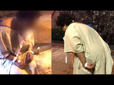 Disturbing Video Shows Patient Dumped at Bus Stop by Hospital Staff in the Cold