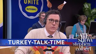 Stephen Works The Butterball Turkey Talk-Line