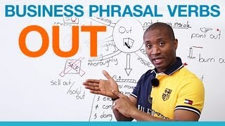 """OUT"" Phrasal Verbs - Business English"