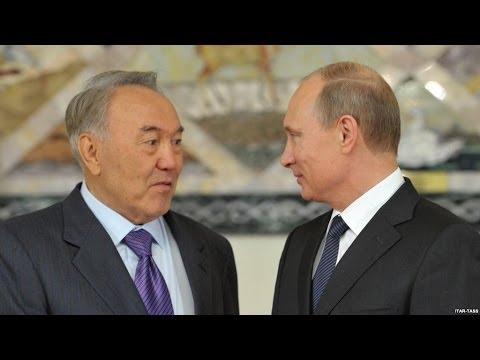 Путин наехал на Назарбаева (видео)