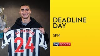 Newcastle break transfer record to sign Almiron for £21m!   Transfer Deadline Day   Sky Sports News