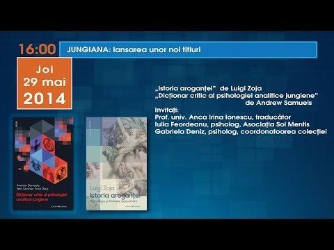 JUNGIANA lansare: Istoria aroganţei,  Dicţionar critic al psihologiei analitice jungiene
