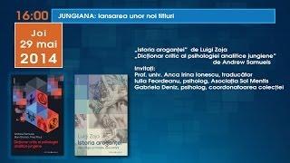 Bookfest 2014 JUNGIANA: Istoria aroganţei de Luigi Zoja