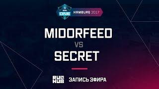 MidOrFeed vs Secret, ESL One Hamburg 2017, game 2 [Maelstorm, LightOfHeaven]