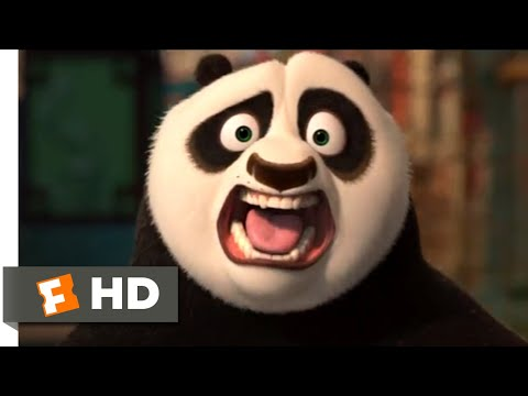 Kung Fu Panda 2 (2011) - Rickshaw Chase Scene (4/10) | Movieclips