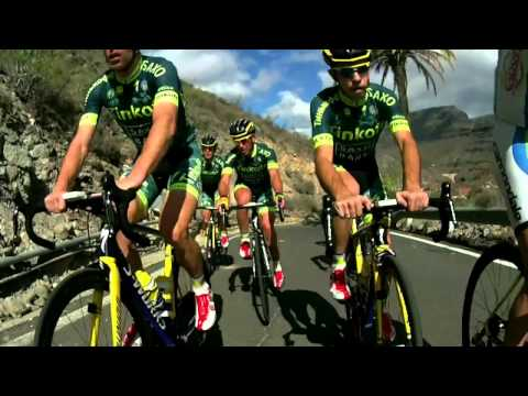 Tinkoff-Saxo train together on Gran Canaria (video)