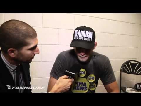Alexander Gustafsson Post Fight Interview Credits Phil Davis Loss For Win at UFC 120