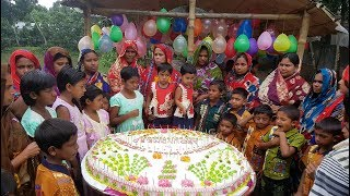 Video 70 Pounds Vanilla Cake Making To Celebrate 1 MILLION Subscribers With Whole Village Peoples MP3, 3GP, MP4, WEBM, AVI, FLV Maret 2019
