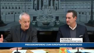 Video Eurofighter-Skandal: Pressekonferenz mit Strache und Pilz MP3, 3GP, MP4, WEBM, AVI, FLV Oktober 2017