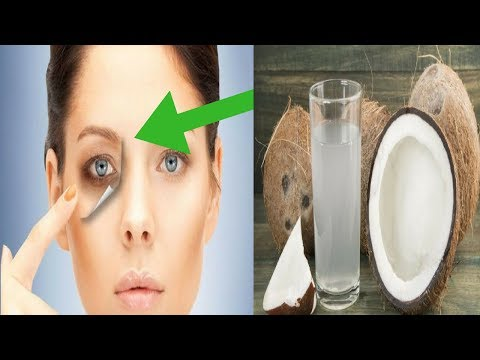 How To Apply Coconut Oil Under The Eye Area