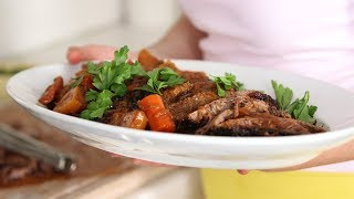 Sweet-and-Sour Brisket- Everyday Food with Sarah Carey by Everyday Food