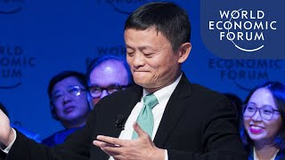Jack Ma (Alibaba founder) talks business, trade and general wisdom