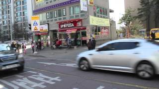 Goyang-si South Korea  city photos : Glimpse small ILSAN street, Goyang South Korea