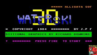 3D Waterski (Commodore 64 Emulated) by ILLSeaBass
