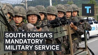 South Korea requires all of its male citizens to serve in the military for two years. Here's what that experience is like. Footage courtesy of Goyang TV, 2012 ...