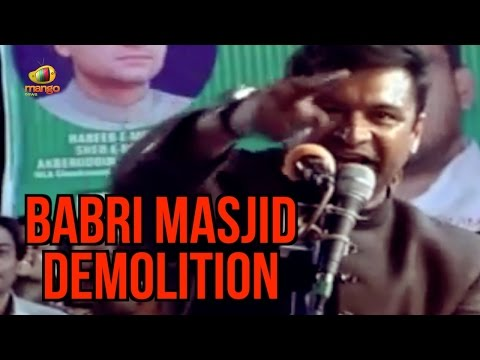 Akbaruddin Owaisi Accuses BJP And Congress Over Babri Masjid Demolition | Mango News