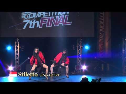 【GDC 7th】GATSBY DANCE COMPETITION 2014-2015:ASIA GRANDFINAL/Stiletto【SHINGAPORE】