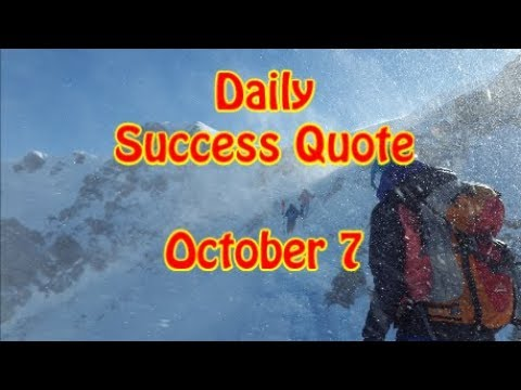 Success quotes - Daily Success Quote October 7  Motivational Quotes for Success in Life