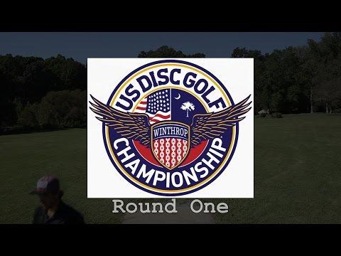 2014 U.S. Disc Golf Championship: Round 1 (Johansen, Lizotte, Doss, Wiggins)