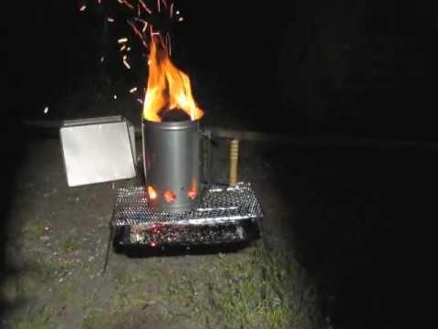 キャプテンスタッグ 炭焼き名人(品名) Mー6637 炭おこし 実験