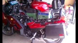 3. Synchronize the Carburetors 2006 Kawasaki Concours