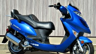 8. SOLD! 2006 Kymco Grand Vista 250 Scooter 3170 Miles!