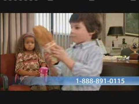 "Nationwide Auto Insurance Commercial ""Bank Brat"""