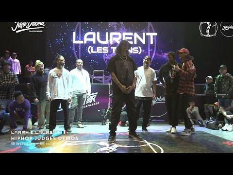 LES TWINS | Laurent Judge Demo Showcase in Juste Debout Shanghai 🔥🔥