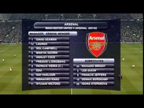 Manchester United Vs. Arsenal (2002/05/08)