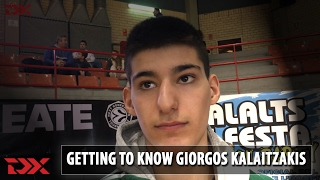 Getting to know: Giorgos Kalaitzakis