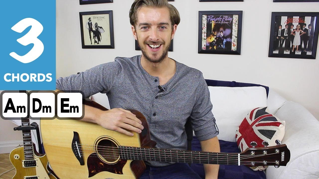 How to play AIN'T NO SUNSHINE – EASY Fingerstyle Guitar Tutorial – Bill Withers