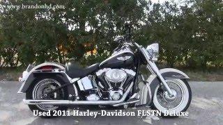 1. 2011 Harley Davidson Softail Deluxe Vance n Hines