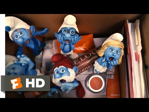 The Smurfs (2011) - Meeting the Smurfs Scene (4/10)   Movieclips