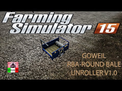 Goweil RBA-Round Bale Unroller v1.0