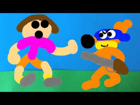 Shooter attacks Dora and causes Boots the Grenade to explode