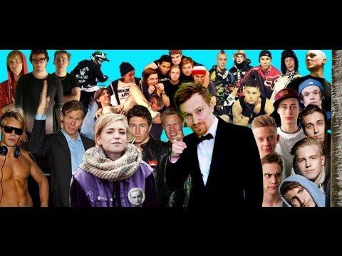 Sveriges Youtube-kändisar samlade