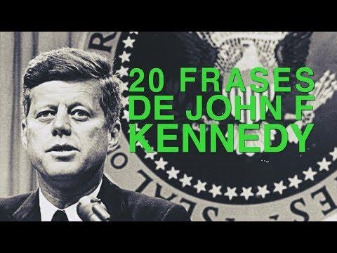 Frases celebres - 20 Frases de John F. Kennedy  El presidente que hizo soñar a EEUU