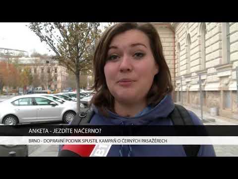 TV Brno 1: 7.11.2017 Dopravní podnik spustil kampaň o černých pasažérech